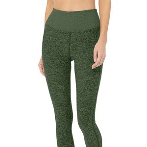 Alo Yoga High Waist Lounge Legging Hunter Heather